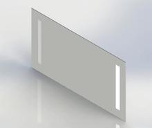 Loevschall Godhavn speil med LED-belysning 120x85 cm