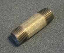 """Galvanisert Nippelrør 2"""" - 60 mm"""