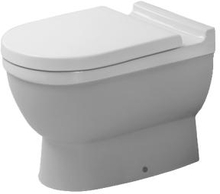 Duravit Starck 3 back-to-wall toalett, hvit
