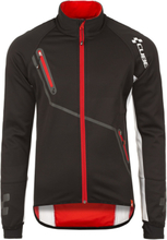 Cube Blackline Softshell Jacket Herre black'n'white'n'red S 2018 Racingjakker