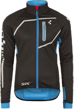 Cube Teamline Softshell Jacket Herre black'n'blue S 2018 Racingjakker