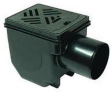 Kessel Drehfix sluk med høyvannslukke 110mm