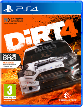 Dirt 4 - Sony PlayStation 4 - Racing