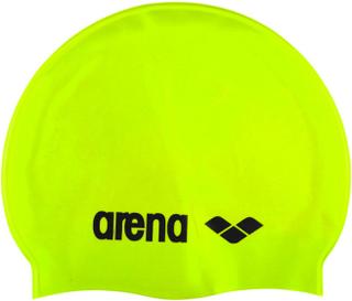 arena Classic Silicone Cap acid lime-black 2019 Badehetter