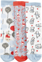 Alice in Wonderland - Cards -Sokker - flerfarget