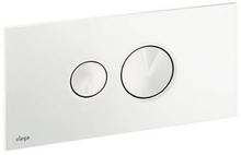 Viega Visign for Style 10 betjeningsplade, hvid