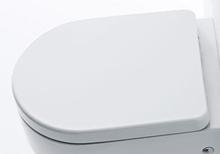 Lavabo Flo Toalettsits m/Softclose, Vit - till vägghängd toalett