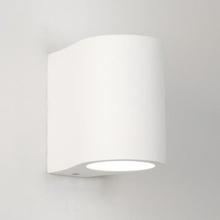 Astro Pero Væglampe, Hvid gips