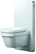 Geberit Monolith sisterne t/vegghengt toalett, Hvit