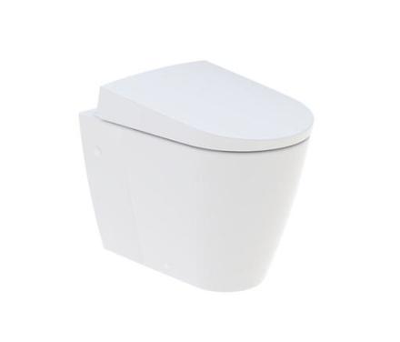 Geberit AquaClean Sela gulvstående dusjtoalett m/toalettsete, hvit