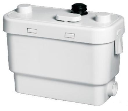 SFA Sanivite Silence avløpspumpe (velegnet til oppvaskmaskin, vaskemaskin, servant, dusjkabinett, badekar, bidé)
