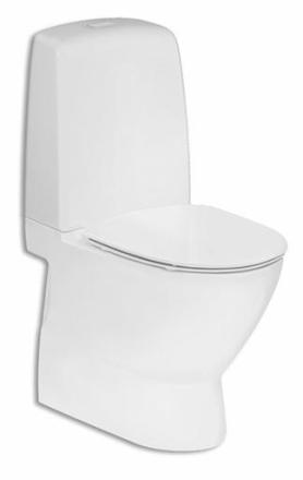 Ifö Spira Art 6240 toalett utan spolkant, inbyggt s-lås m/Ifö Clean
