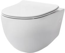 Lavabo File vegghengt toalett m/clean coat, hvit