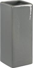 Kub multihållare för tand/diskborstar från Cult design. Färg: Stålgrå.