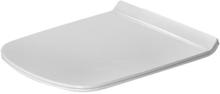 Duravit DuraStyle toalettsete m/soft close & quick release, hvit