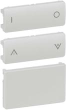 LK IHC Wireless Fuga Tangentsæt til batteritryk, 2 slutte, 1 modul, Lysegrå