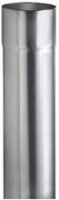 VM Zinc nedløbsrør Ø 87 mm á 3 meter, zink