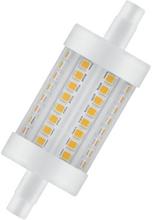 Osram Parathom Line LED - 8 watt - 2700K - R7s - 78 mm