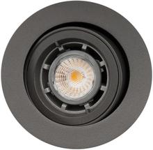 SG Jupiter udendørs indbygningsspot LED 6,5W GU10 i grafit