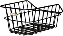 Basil Cento Alu Basket matte black 2020 Cykelkorgar för pakethållare