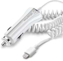 Cellularline Lightning lader til bil (12/24V) til iPhone 5/6/6 Plus