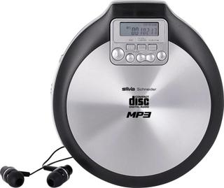 Silva Schneider MCD 50 Bärbar CD-spelare CD, CD-R, CD-RW, MP3 Svart