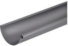 VM Zinc halvrund tagrende nr. 11 á 3 meter, quartz-zinc