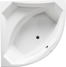 Royal Vigga hjørne badekar med armatur 140 x 140 cm