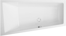 Royal Camilla asymmetrisk badekar venstrevendt 160 x 60/90 cm