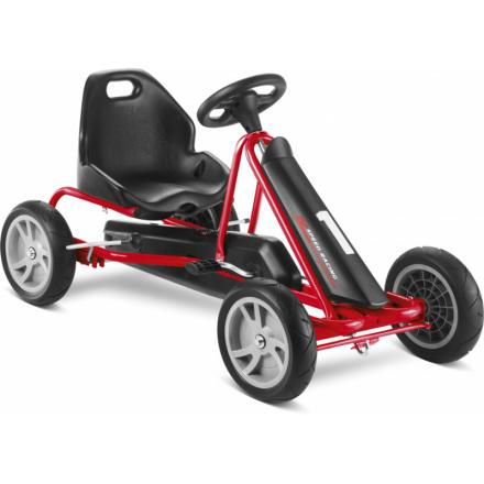 Puky F20 Lapset polkuauto , punainen/musta 2019 Lasten kulkuneuvot