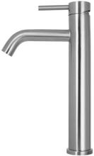 Primy Wave High håndvaskarmatur, rustfrit stål