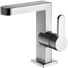 Primy Arc Square håndvaskarmatur, rustfrit stål
