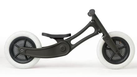 Wishbone 2 in 1 Design Bike Lapset potkupyörä Recycled Edition , musta 2018 Lasten kulkuneuvot