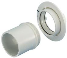 Wavin type 2 pladevægstilbehør t/koblingsdåse - 3-5 lag gips