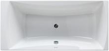 Royal Lotte badekar med armatur 170 x 80 cm