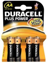 Duracell Plus AA Alkaline Batterier - 4 stk.