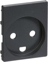 LK IHC Wireless Fuga Afdækning for stikkontakt, Koksgrå - 10 stk.