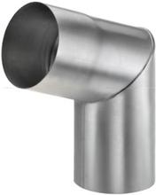 VM Zinc knærør t/indvendig samling 70 grader / 87 mm, zink