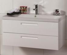 Noro Relounge møbelpakke med skuffer 102,5 x 42 cm i hvid højglans