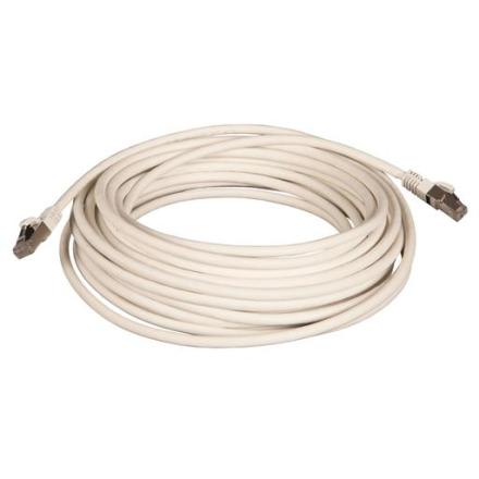 Netværkskabel S-FTP Kat. 6a, 10 meter, Hvid