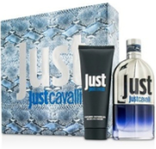 Giftset Roberto Cavalli Just Cavalli Man Edt 90ml + Shower Gel 75ml