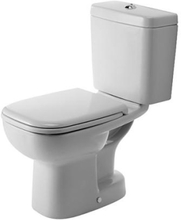 Duravit D-Code toilet m/S-lås, hvid