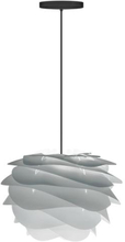 Umage Carmina Mini Pendel med sort ledning, Grå