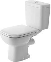 Duravit D-Code toilet m/P-lås, hvid