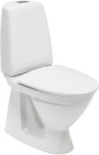 Ifö Sign toilet m/S-lås, rengøringsvenlig, hvid