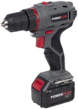 Powerplus E-line Drill- / Skrutrekker m/Lader 14,4V/1,3Ah
