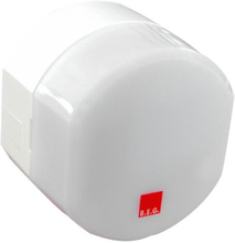 B.E.G CDS-T-P Skumringsrelæ med timer, Inkl. fjernbetjening, Hvid