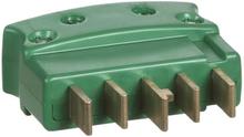 LK Flerpolet stikprop, 3P+N+J, Lige, Brudsikker, Grøn