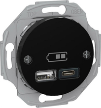 USB A-C uttag Renova - Schneider Electric