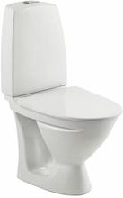 Ifö Sign toilet m/P-lås, rengøringsvenlig, hvid